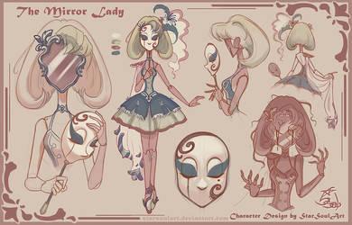 Mirror Lady - CDChallenge by StarSoulArt