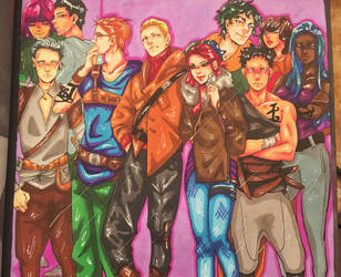 The Mortal Instruments Colouring Book 5 The Circle by AkatsukiMemberWoolfy