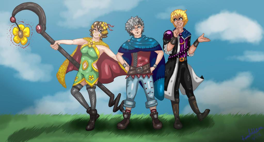 Team Hero by AkatsukiMemberWoolfy