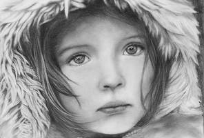 Winter portrait by monster242