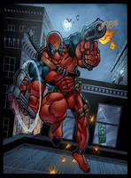 Deadpool by JoseSnakes