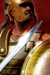 Greek Warrior by CrisM1A1