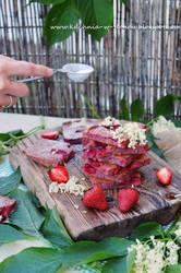 Strawberry and elderflower Pinkies by SunnySpring
