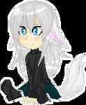 .:MHA Wolfy Sits:. by xXCrazyBunnyXx