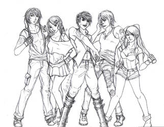 FI Delinquent Gang by aegis-of-justice