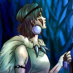 Switcharound - Princess Mononoke by aegis-of-justice