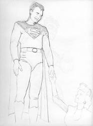 Superman and Lois by DejaRico