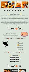 F2U NON-CORE // 003 Kawaii Halloween by WebsiteGoodies