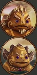 Goron Portraits Sample Ck2mod Hylian Kings by Nukumnehtar