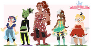Magical girl design three by Thesleepypencil