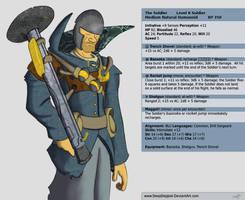 TF2 DnD: Soldier by SleepDepJoel