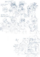 rooster teeth Doodle Stream by ONATaRT