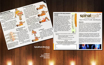 Mock Brochure for SpinalRock by Osiris2735