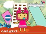 ____ Cat Girl ____ by Raiveno