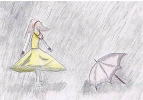 Who Needs Umbrellas? by VictoriaR444