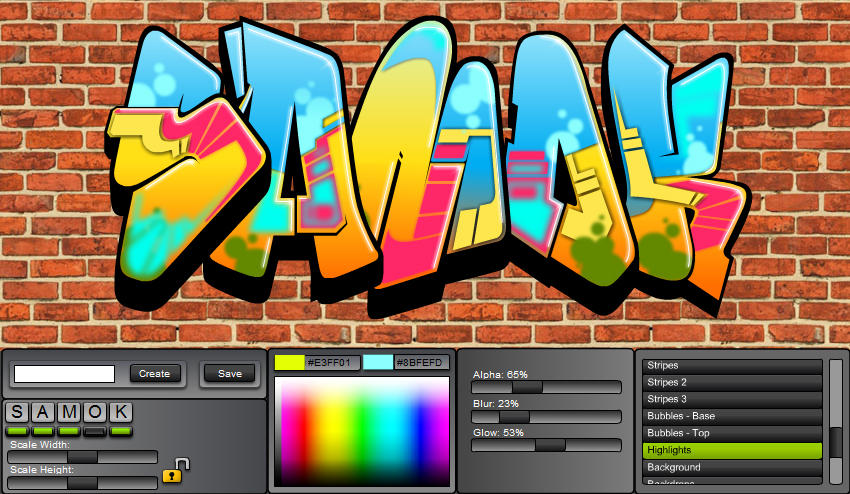 Graffiti Creator By Mindgem On Deviantart