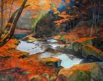 Autumnriver by MindGem