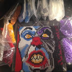 Perler Beads Pennywise by Nicketeer