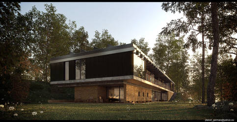 House in the forest.c1 by german01