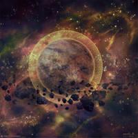 Burning Suns - Guardian Homeworld by Ellixus