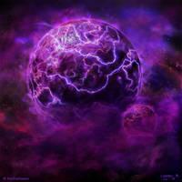 Burning Suns - Wraith Homeworld by Ellixus