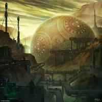 Burning Suns - Orb of destiny by Ellixus