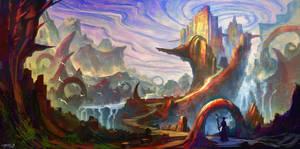 Dream Castle by Ellixus