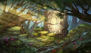 Secret Door II by Ellixus