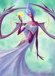 Goddess I by Ellixus