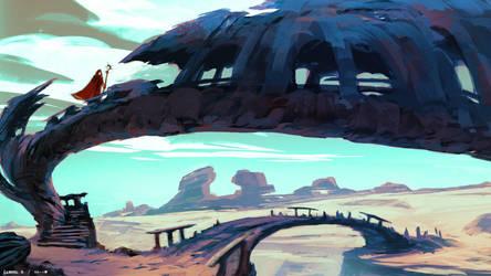 Through the Desert I by Ellixus