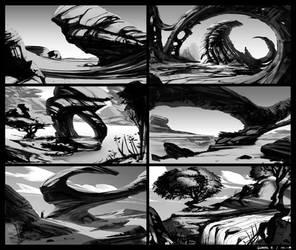 Environment Thumbnails 01 by Ellixus