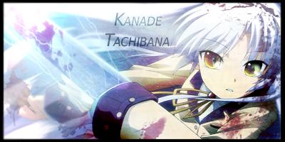 Signature - Kanade Tachibana by lidaner