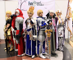 The Fate/Grand Order Squad by Ashyme