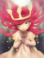 Aurora from Child of Light by fralininin