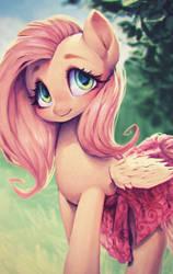 Shy Pony by fralininin