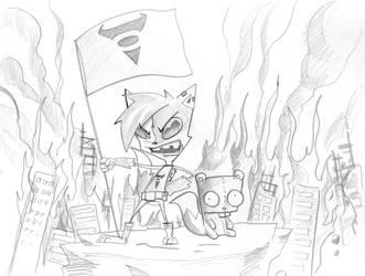 Invader Tye, Requiem by darkcoolex