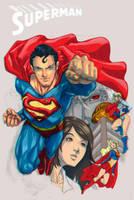 Superman Anaglyph by KokoriGlyph