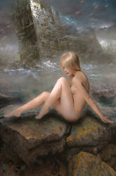 The endless sea by Lvcifera