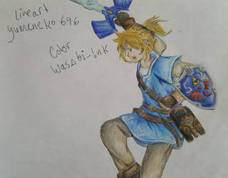 Breath of the Wild, Link by CocoPanda21