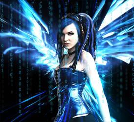 Blue Angel by vLine-Designs
