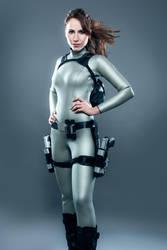 Tomb Raider Lara Croft Movie Wetsuit by milla-s