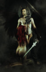 Hades and Persephone by SuicideOmen