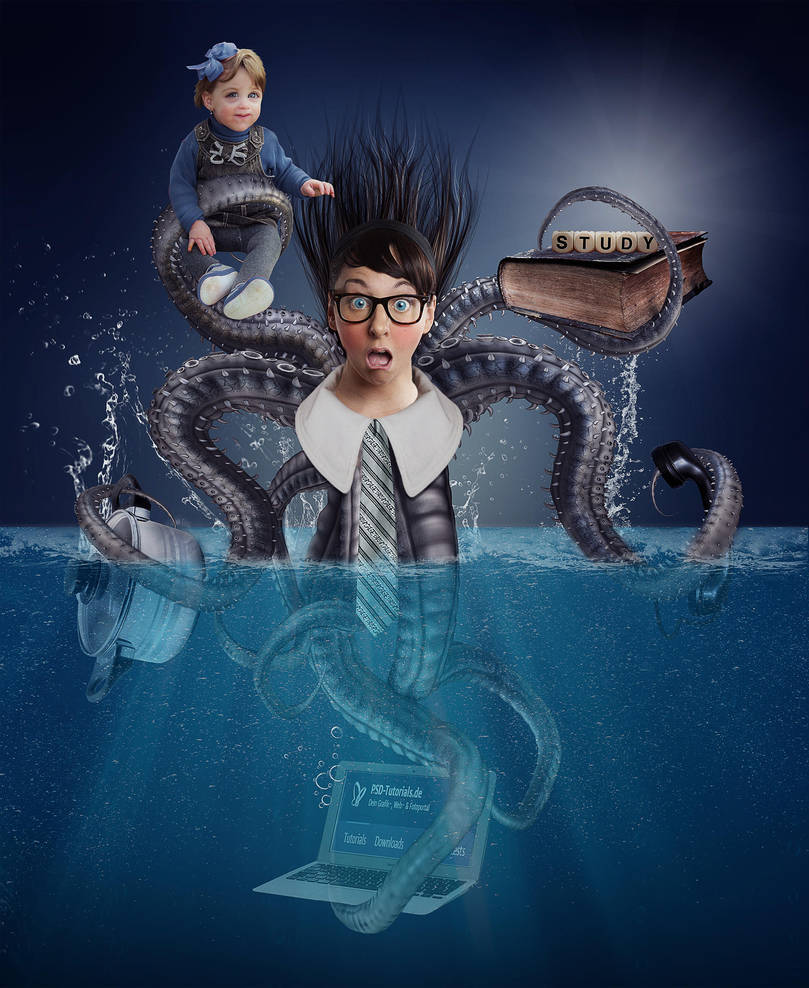 Today I am an octopus by SuicideOmen