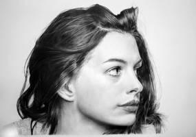 Anne Hathaway by francoclun