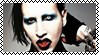 Marilyn Manson Stamp by Tsiki10