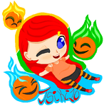 Falling Pumpkin by Tsiki10