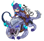 [League Of Legends] Sejuani the Winter's Wrath by Tsiki10