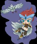 [League Of Legends] Quinn Demacia's Wings by Tsiki10