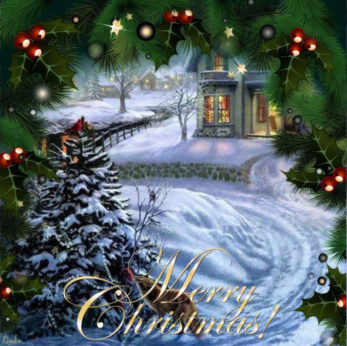Christmas All aglow by charmedangel61