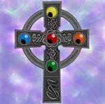 Forsaken Stars Celtic Cross by Robsojourn